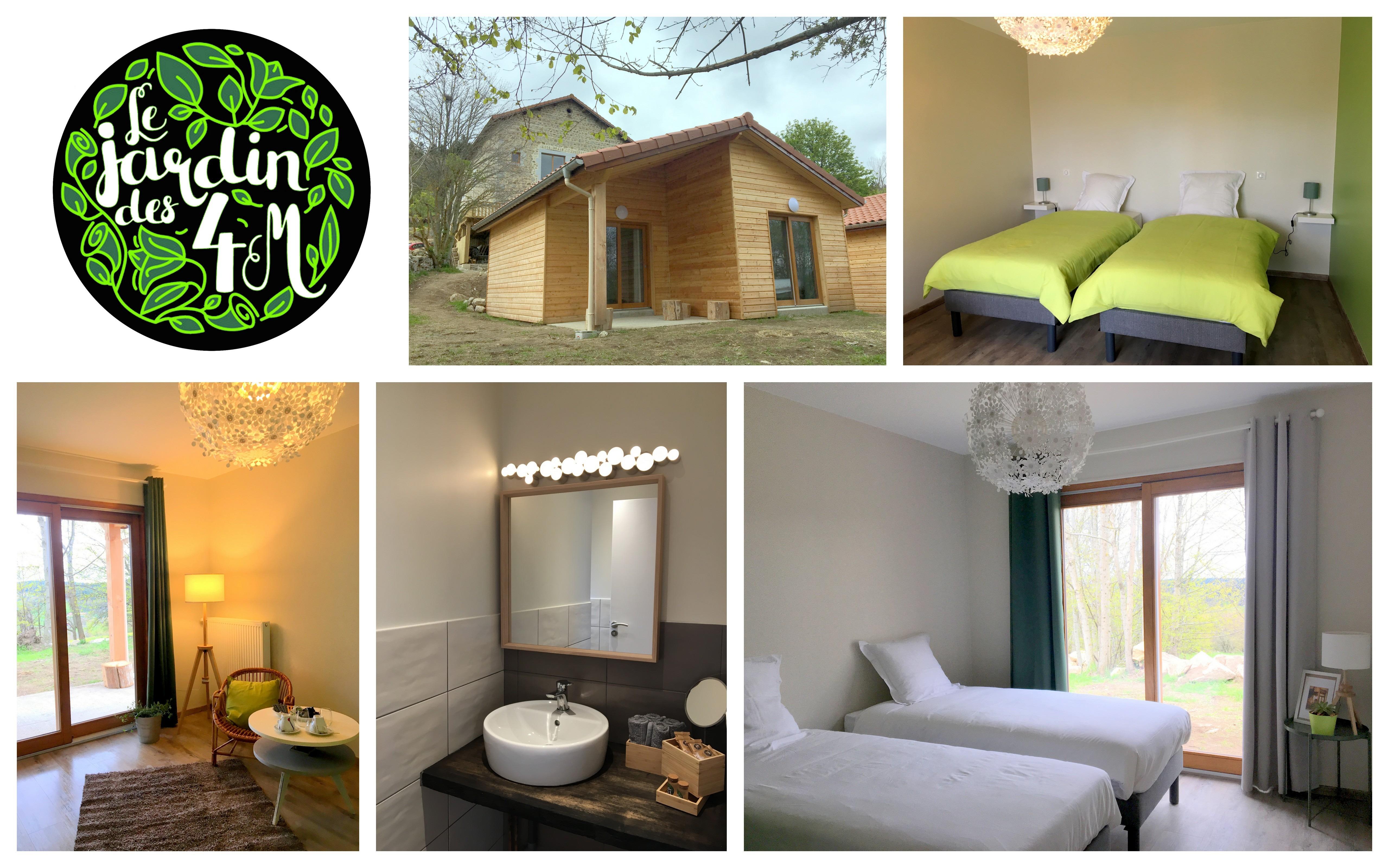 Chambres & Chalets Le Jardin des 4M